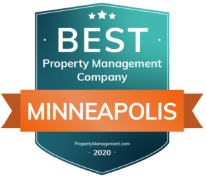 Best property management company minneapolis badge